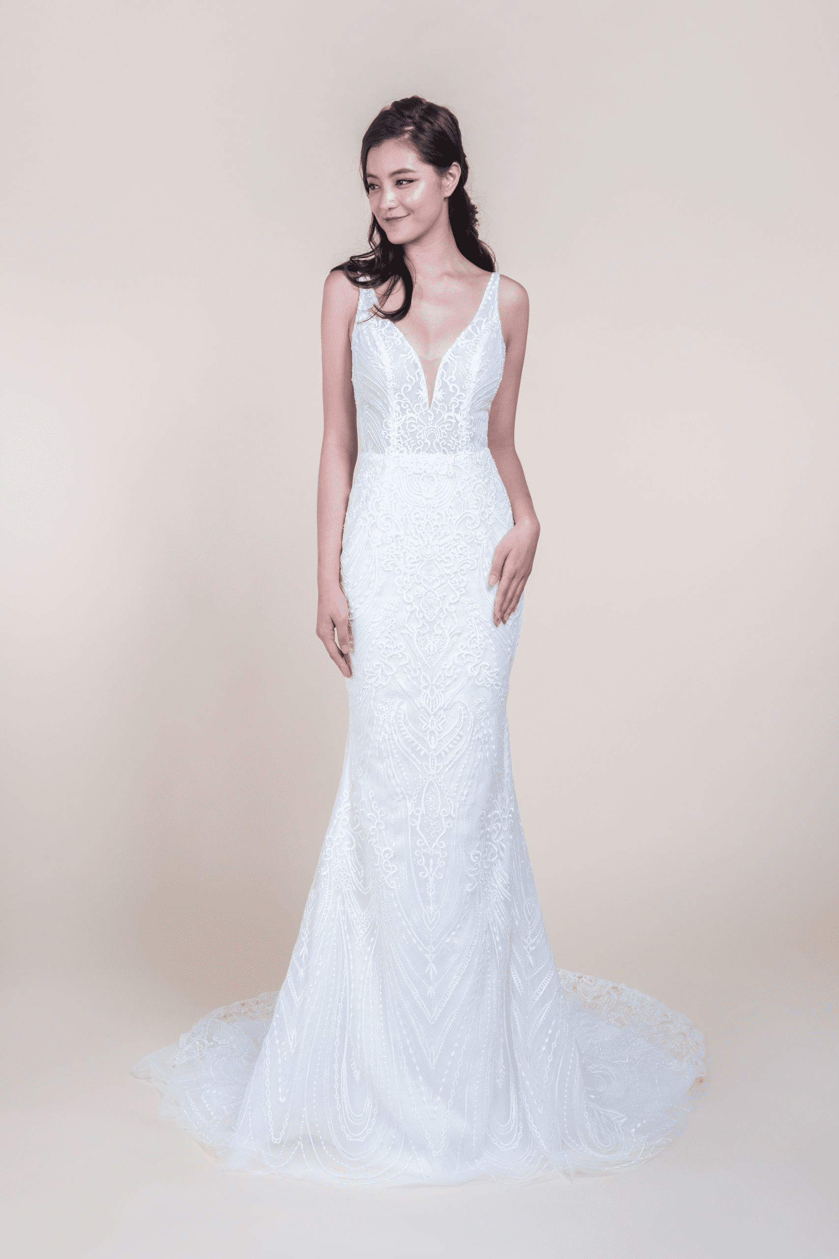 Velda-affordable Wedding Gown for rent in Singapore