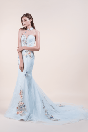 Milly-affordable Wedding Cheongsam for rent in Singapore