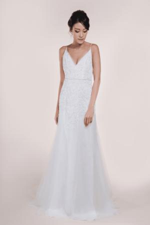 Nadine-Minimalist Bridal Gown