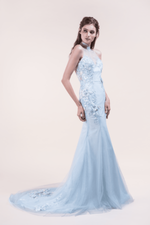 Phyllis-affordable Wedding Cheongsam for rent in Singapore