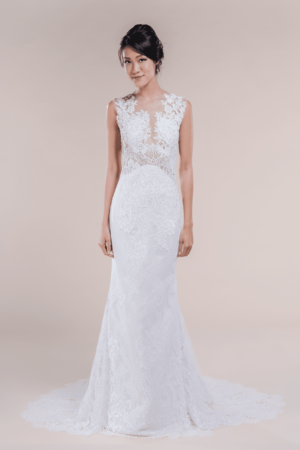 Stevie-affordable Bridal Gown for rent in Singapore
