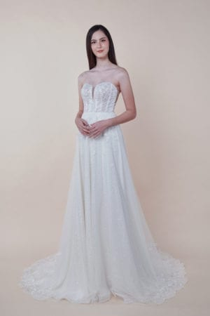 Cyra - affordable Wedding Gown for rent in Singapore