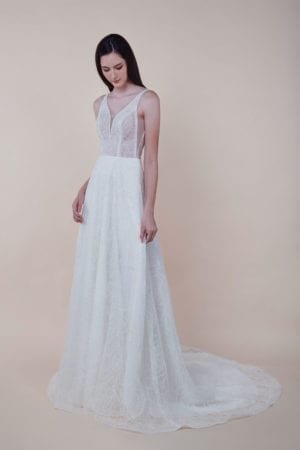 Mavis - Minimalist Bridal Dress