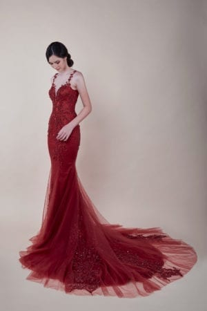 Olivia - affordable Evening Gown for rent in Singapore