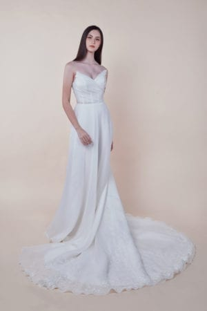 Xenia - Minimalist Bridal Gown