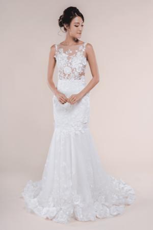 Fleur-Garden Wedding Gown