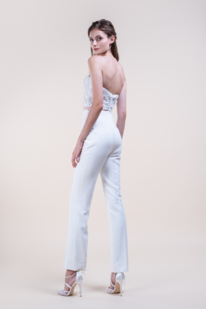 Ziann-Jumpsuit Wedding Gown